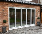 Hallmark-Aluminium-bifold doors external closed