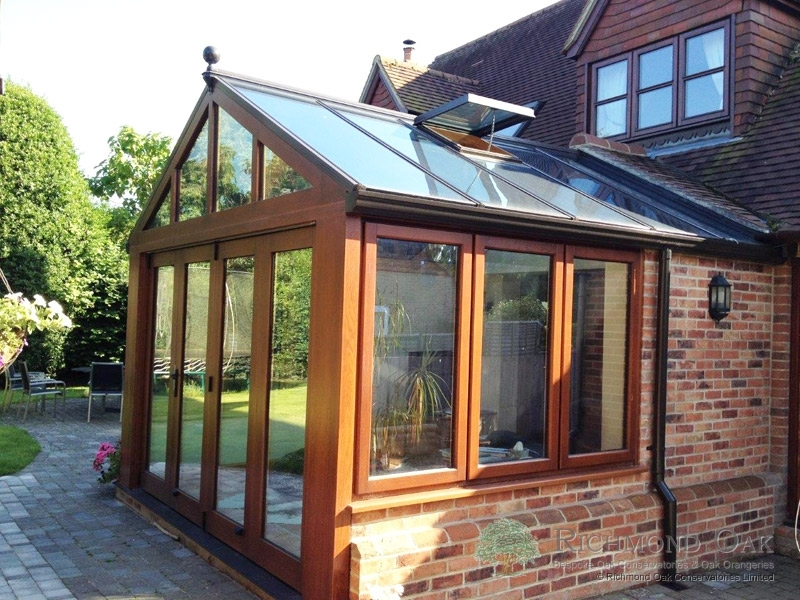 Traditional Oak Conservatory With Bifold Doors Amp Roof Dormer