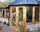 luxury wooden conservatory  kent