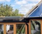 wooden conservatory  kent