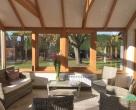 bespoke sapele garden rooms Northamptonshire