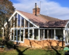 luxury wooden garden rooms Northamptonshire