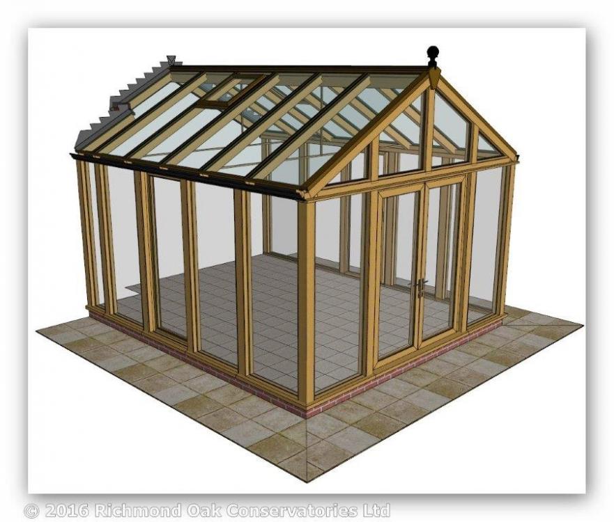 160326_Austin_v2_Oak Contemporary Gable_3D LH