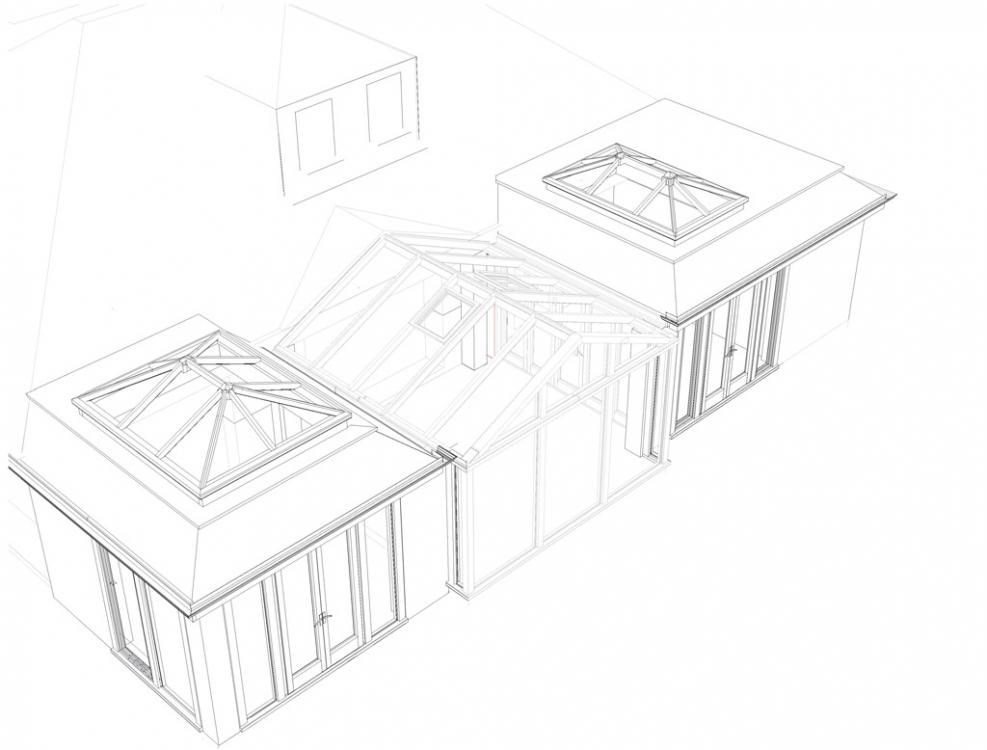 Celcius Elite Glass Roof