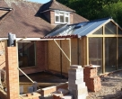 Jakobsen-Ringwood-New-Forest-National-Park-Seasoned-Oak-Orangery_During-Construction-5