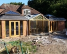 Jakobsen-Ringwood-New-Forest-National-Park-Seasoned-Oak-Orangery_During-Construction-9