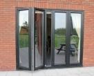 Hallmark-Aluminium-bifold doors external open_2_Anthracite