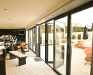 Hallmark-Aluminium-bifold doors internal open_Anthracite