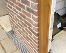 130725_Baird_Oak-Orangery_under-construction_Bifold-Jamb