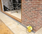 130725_Baird_Oak-Orangery_under-construction_split-headers-under-door-cill