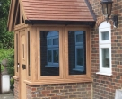 Seasoned Oak Porch Entrance and Door on a property in East Sussex