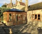 Seasoned Oak Orangery on a Listed Property