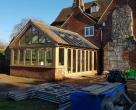 luxury hardwood garden rooms listed property kent