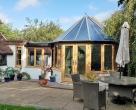 luxury hardwood conservatory  kent
