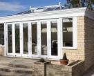 White_External_Painted_Oak_Orangery_Garden_Room_Bi_fold_sliding_doors__12_-977