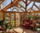 oak edwardian conservatory in surrey