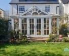 timber edwardian conservatory in surrey
