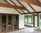 timber garden rooms Northamptonshire
