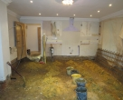 Ratcliffe_Oak-Orangery-during-construction-Kitchen-floor-removed-for-underfloor-heating