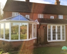 bespoke wooden conservatory sussex