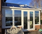 luxury sapele conservatory sussex