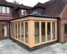 luxury hardwood orangery modern