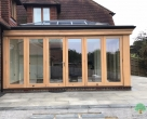 luxury timber orangery modern