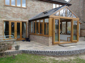 Traditional Conservatory Project: Boughton, Kidlington, Oxfordshire