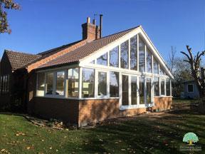 Stunning Bespoke hardwood garden rooms Northamptonshire